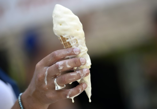 Naturally-occurring protein enables slower-melting ice cream