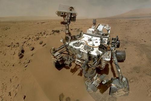 robot on mars nasa - photo #7
