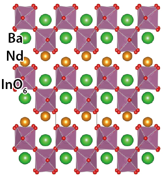 Discovery of a new crystal structure family of oxide-ion conductors