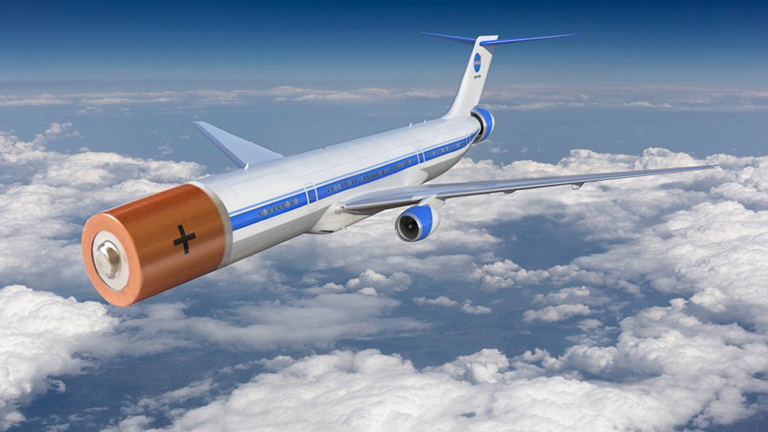 Electric Airplanes Batteries Included