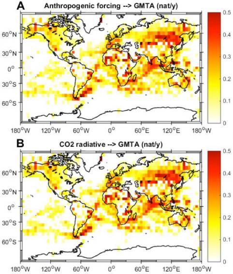 Is human activity responsible for increased Global Warming?