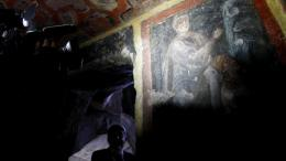 Archaeologists Find Oldest Paintings of Apostles in Roman Catacombs