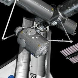 Space Station gains a new room: Node-3 installed