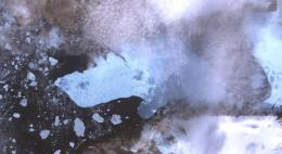NASA Releases New Image of Massive Greenland Iceberg