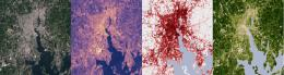 Satellites pinpoint Northeast drivers of Urban Heat islands