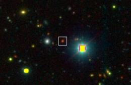 The case of the grown-up galaxy