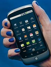 The Google Nexus One smartphone