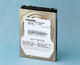 Toshiba Introduces New High Areal Density 2.5-inch 750GB HDDs