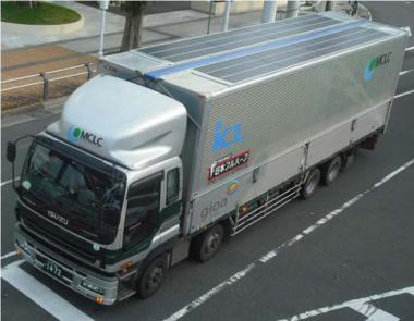 Introducing the i-Cool Solar air conditioning for trucks