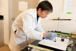 Nanotechnology sparks energy storage on paper and cloth