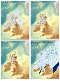 Researchers map out ice sheets shrinking during Ice Age