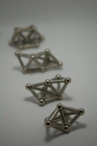 Using magnetic toys as inspiration, researchers tease out structures of self-assembled clusters