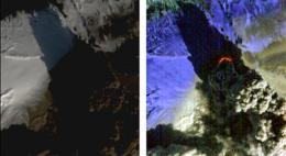 NASA Satellite Eyes Iceland Volcano Cauldron