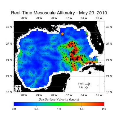 NASA Satellites Keep Watch on Gulf Current Near Spill