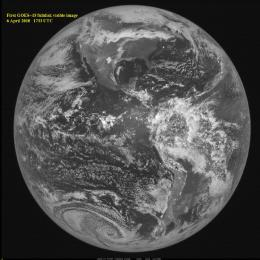 GOES-15 Opens Its