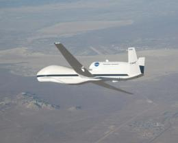 NASA's Unpiloted Global Hawk Completes First Science Flight