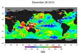 NASA satellites capture a stronger La Nina
