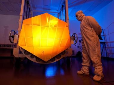 Curving mirrors in space with the Webb Telescope