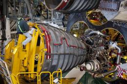 NASA lead engine technician was part of integral team that installed first engine three decades ago