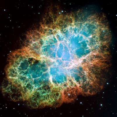 High-energy surprises  found in 'constant' crab nebula