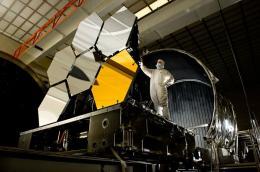 Space telescope's beryllium mirrors