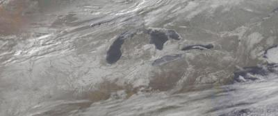 Snowy U.S. panorama caught by satellite