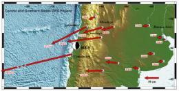 Researchers show how far South American cities moved in quake