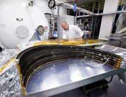 Webb Telescope sunshield passes launch depressurization tests to verify flight design