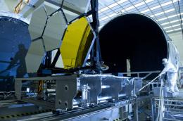 Webb telescope primary mirror segment completes cryogenic test