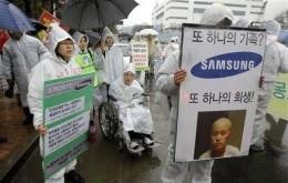Samsung Electronics tries to quell cancer concerns (AP)