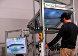 Haptic solution for modelling industrial designs