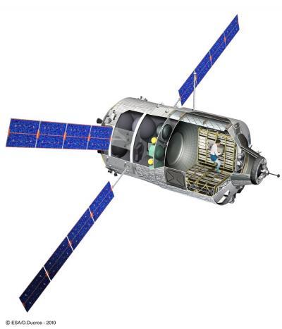ATV Johannes Kepler operating flawlessly