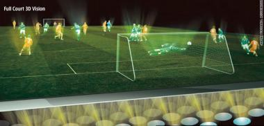 Japan pitches mind-blowing high-tech 3D World Cup