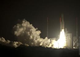 Ariane 5's fourth launch of 2010