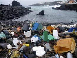 A 2nd garbage patch: Plastic soup seen in Atlantic (AP)