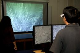 A 3-D world: New technology allows students to take virtual field trips