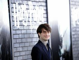 Actor Daniel Radcliffe attends the premiere of