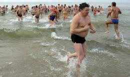 A heat wave searing the Baltic region has warmed the usually frigid waters of the Baltic Sea to more mild temperatures