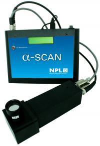 Long range Alpha Detector built by NPL