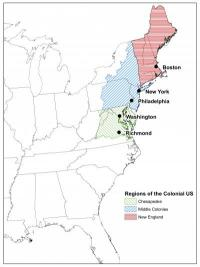 America's colonial hydrologic history recreated