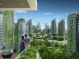 В Китае будет построен настоящий «эко-город»