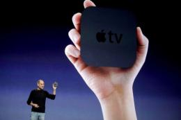 An upgraded version of Apple TV went on sale late last year