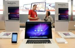 Apple said the Nvidia GeForce 320M graphics processor in the 13-inch MacBook Pro gives it up to 80% faster graphics