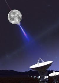 Astronomers use moon in effort to corral elusive cosmic particles