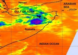 Bandu begone: Tropical Cyclone 2A fading in Somalia