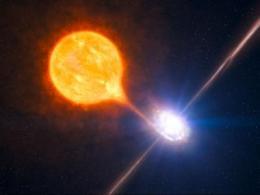 Black hole blows big bubble