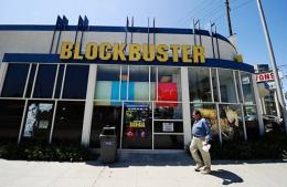 Blockbuster's filing for Chapter 11 bankruptcy protection means hundreds of its stores are likely to close