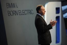 BMW sales director Ian Robertson said the BMW i3 electric car would be suitable for city use