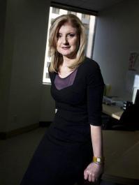 Can Huffington transform AOL like she has herself? (AP)