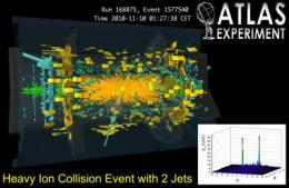 CERN observes melted nuclear matter for the first time